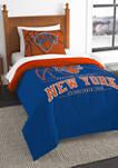 NBA New York Knicks Reverse Slams Comforter Set