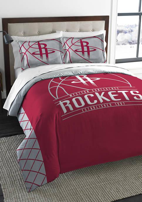 NBA Houston Rockets Reverse Slam Comforter Set