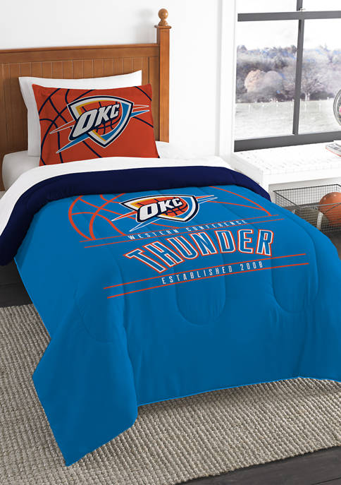 NBA Oklahoma City Thunder Reverse Slam Comforter Set