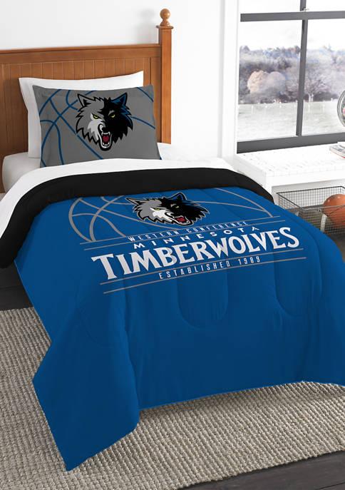 NBA Minnesota Timberwolves Reverse Slam Comforter Set