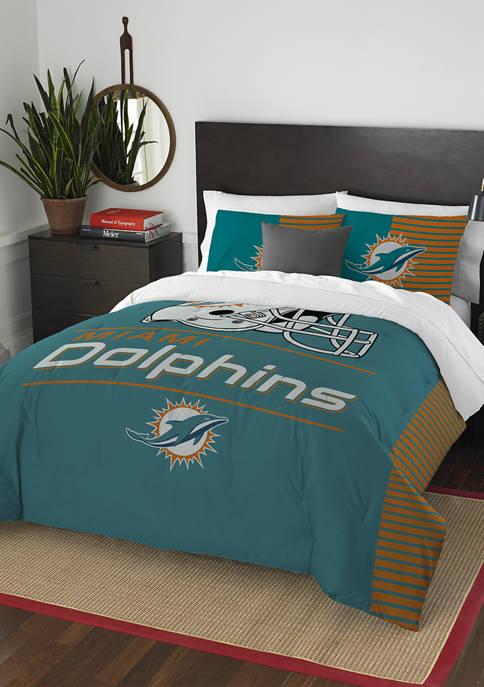 NFL Miami Dolphins Draft Comforter Set