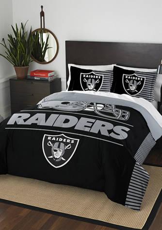 Nfl Oakland Raiders Draft Comforter Set, Oakland Raiders King Bedding