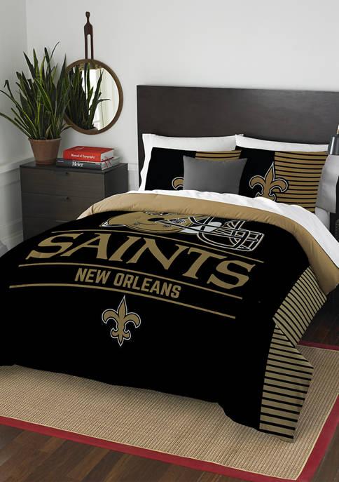 NFL New Orleans Saints Draft Comforter Set