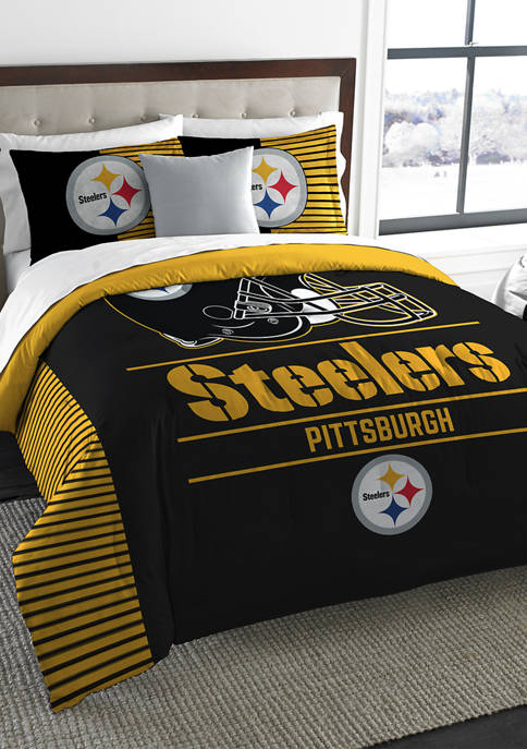 The Northwest Company NFL Pittsburgh Steelers Draft Comforter