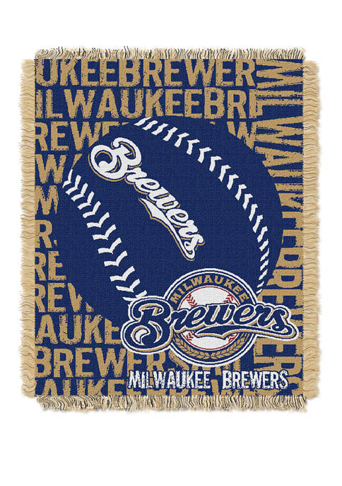 The Northwest Company MLB Milwaukee Brewers Double Play