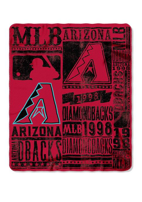 The Northwest Company MLB Arizona Diamondbacks Strength Fleece