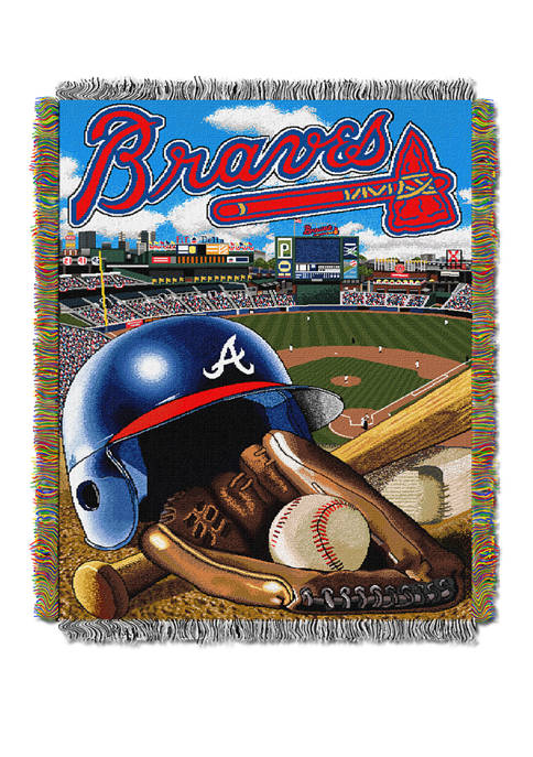 MLB Atlanta Braves HomeField Advantage Tapestry