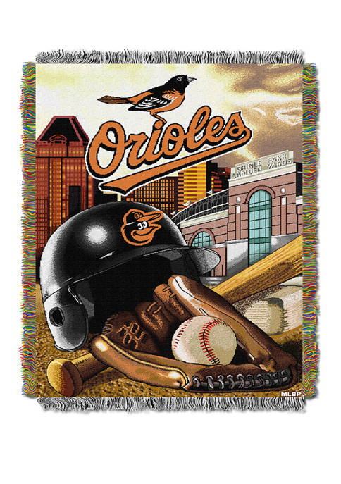 MLB Baltimore Orioles HomeField Advantage Tapestry