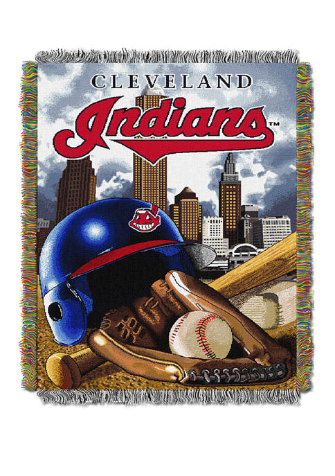 MLB Cleveland Indians HomeField Advantage Tapestry