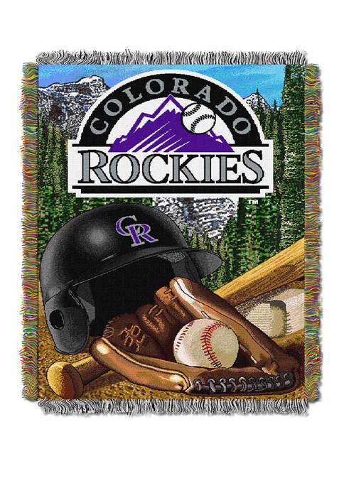 MLB Colorado Rockies HomeField Advantage Tapestry