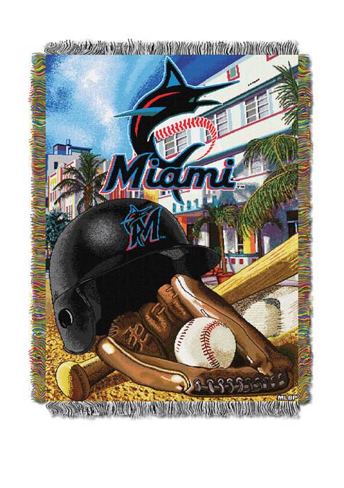 MLB Miami Marlins HomeField Advantage Tapestry