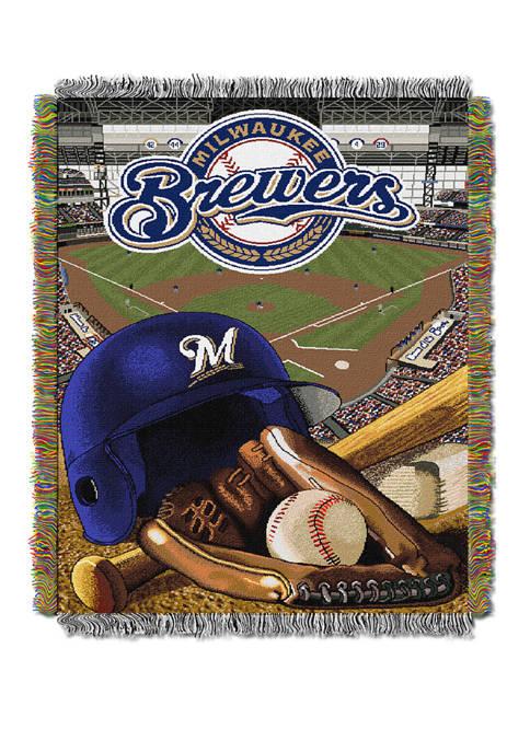 MLB Milwaukee Brewers HomeField Advantage Tapestry