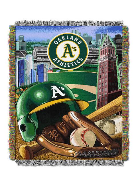 MLB Oakland Athletics HomeField Advantage Tapestry