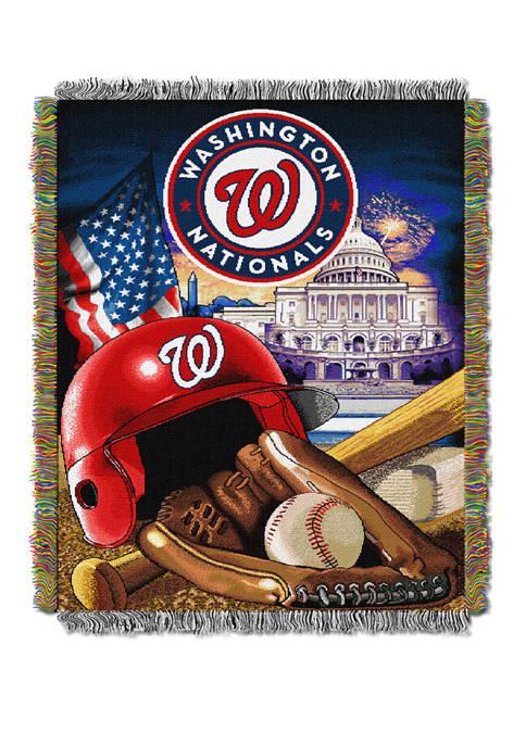 MLB Washington Nationals HomeField Advantage Tapestry