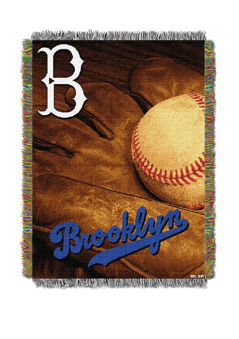 The Northwest Company MLB Brooklyn Dodgers Vintage Throw