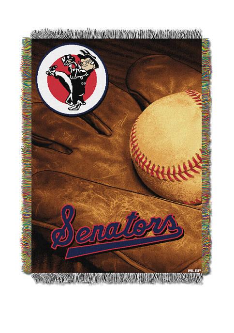 MLB Washington Senators Vintage Throw Tapestry