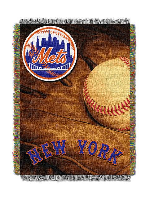 MLB New York Mets Vintage Throw Tapestry