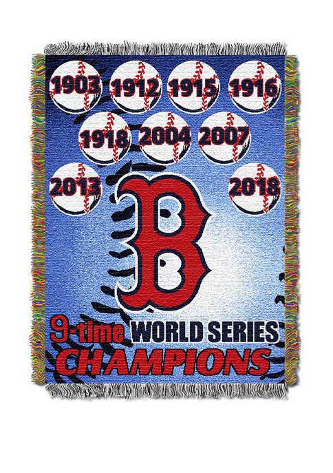 MLB Boston Red Sox Commemorative Series Tapestry