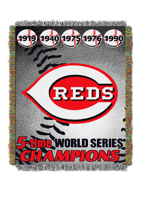 The Northwest Company MLB Cincinnati Reds Commemorative Series