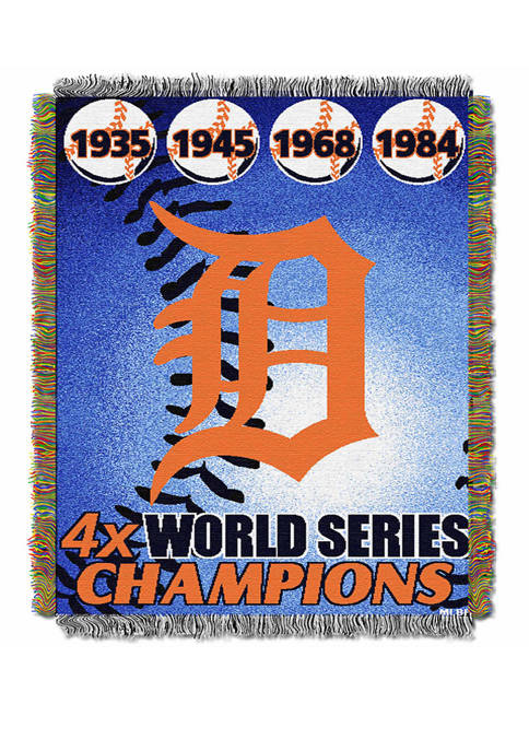MLB Detroit Tigers Commemorative Series Tapestry