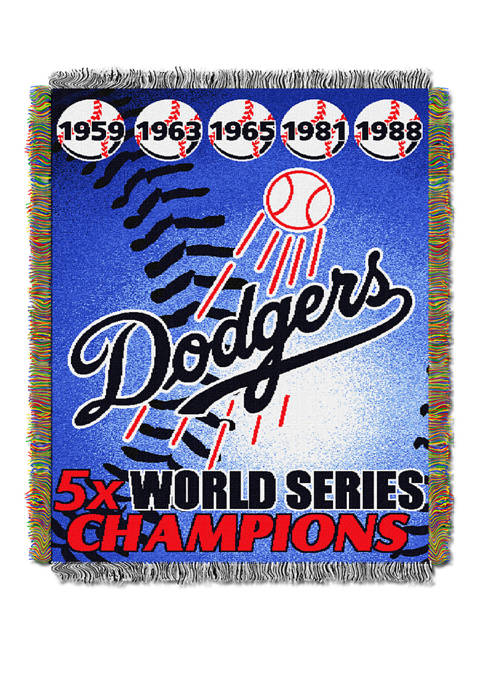 The Northwest Company MLB Los Angeles Dodgers Commemorative