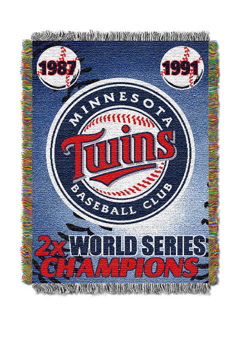 MLB Minnesota Twins Commemorative Series Tapestry