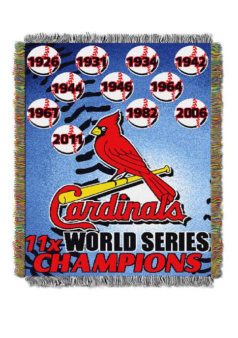 The Northwest Company MLB St. Louis Cardinals Commemorative