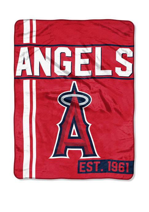 MLB Los Angeles Angels Walk Off Micro Raschel Throw