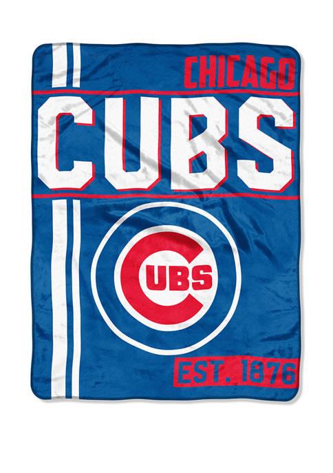 MLB Chicago Cubs Walk Off Micro Raschel Throw