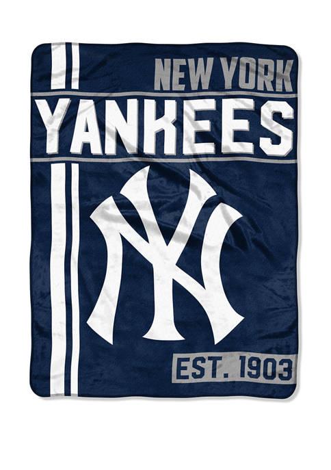 MLB New York Yankees Walk Off Micro Raschel Throw