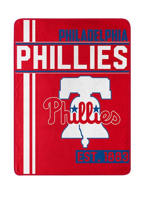 MLB Philadelphia Phillies Walk Off Micro Raschel Throw