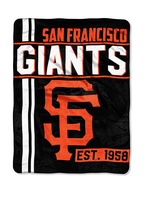 MLB San Francisco Giants Walk Off Micro Raschel Throw