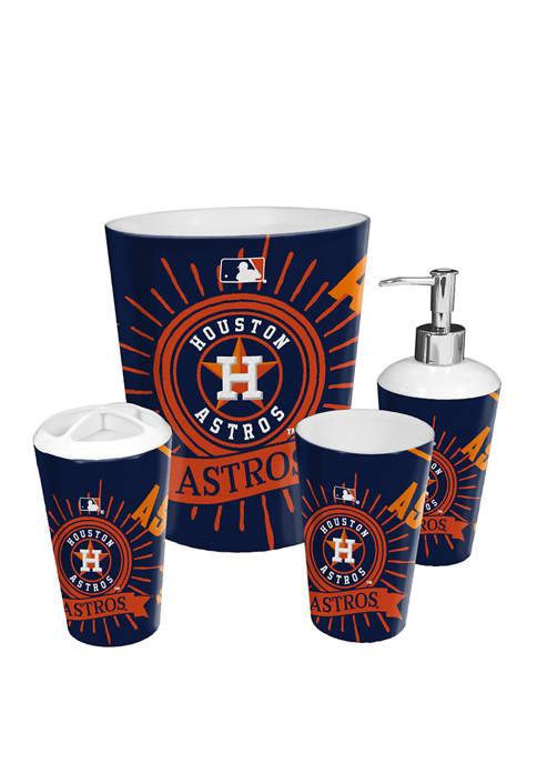 The Northwest Company MLB Houston Astros 4 Piece