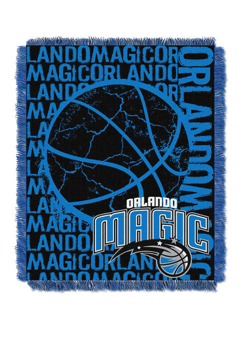 NBA Orlando Magic Double Play Jacquard Woven Throw