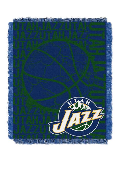 NBA Utah Jazz Double Play Jacquard Woven Throw