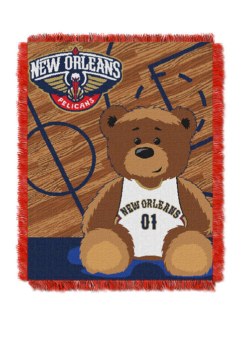 NBA New Orleans Pelicans Half Court Baby Throw