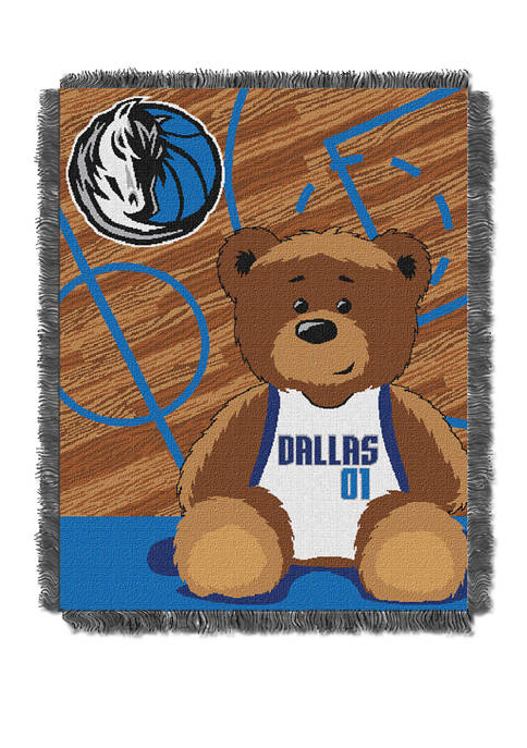 NBA Dallas Mavericks Half Court Baby Throw