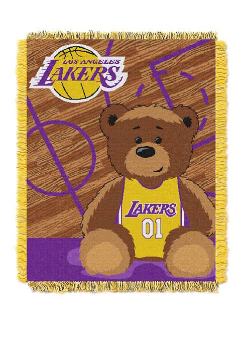 NBA Los Angeles Lakers Half Court Baby Throw