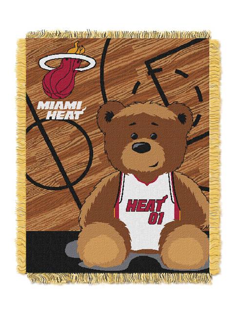 NBA Miami Heat Half Court Baby Throw