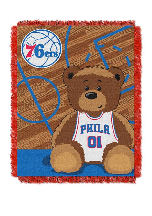 NBA Philadelphia 76ers Half Court Baby Throw