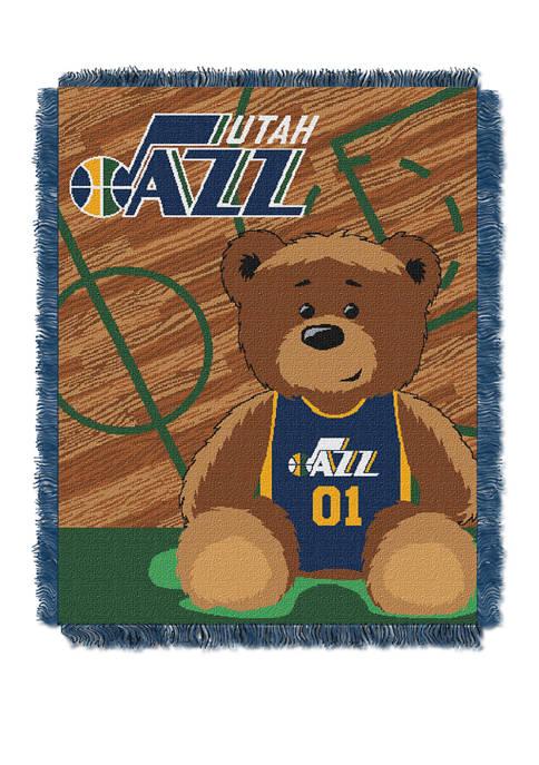 NBA Utah Jazz Half Court Baby Throw