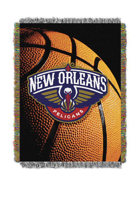 NBA New Orleans Pelicans Photo Real Throw