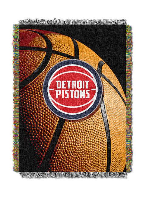 NBA Detroit Pistons Photo Real Throw
