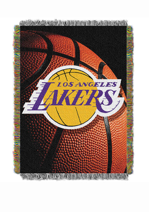 48 in x 60 in NBA Los Angeles Lakers Photo Real Throw