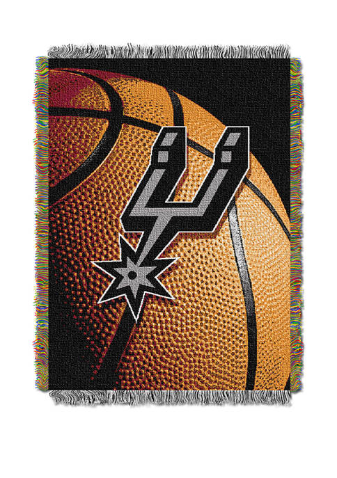 48 in x 60 in NBA San Antonio Spurs Photo Real Throw