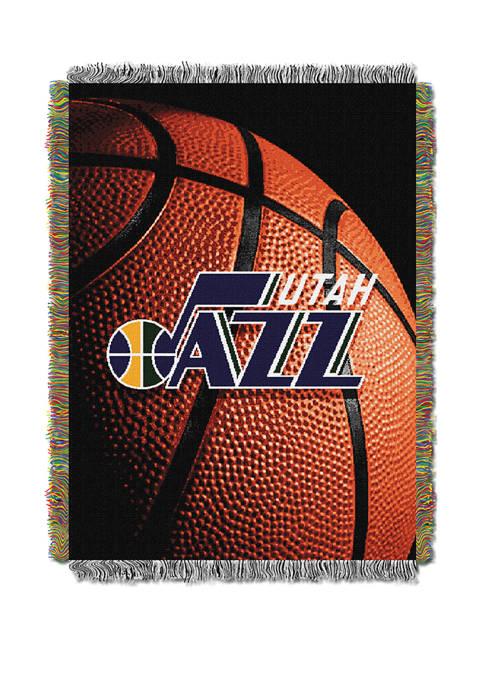48 in x 60 in NBA Utah Jazz Photo Real Throw