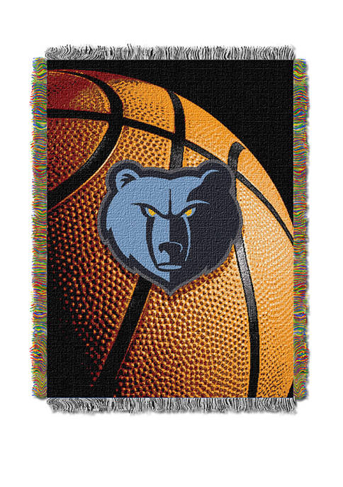 48 in x 60 in NBA Memphis Grizzlies Photo Real Throw