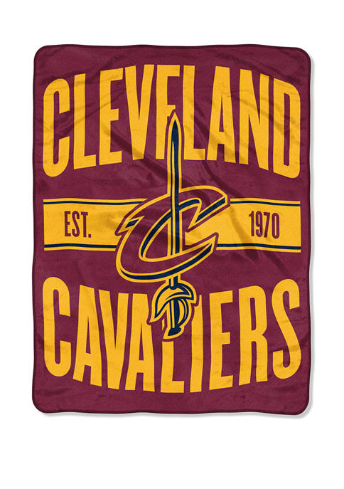NBA Cleveland Cavaliers Clear Out Micro Raschel Throw