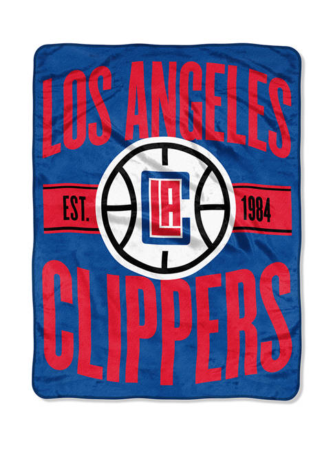 NBA Los Angeles Clippers Clear Out Micro Raschel Throw
