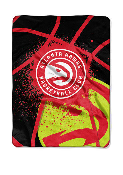 NBA Atlanta Hawks Shadow Play Raschel Throw